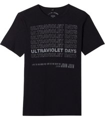 camiseta john john rx ultraviolet malha algodão preto masculina (preto, gg)
