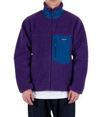 classic retro-x® fleece jacket - purple