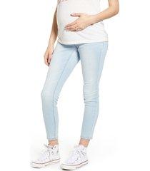 1822 denim re: denim ankle skinny maternity jeans, size 25 in sammy at nordstrom
