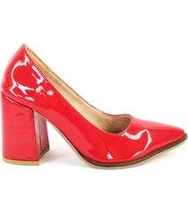 zapato rojo euro confort stiletto