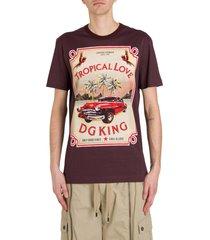 dolce & gabbana tropical love t-shirt