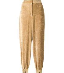 stella mccartney harem style trousers - neutrals