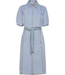 bykeyla dress - knälång klänning blå b.young
