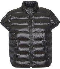 hogan shortsleeved padded jacket