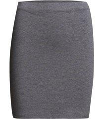 tutti kort kjol grå modström