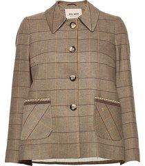 amber josie jacket blazers bouclé blazers brun mos mosh