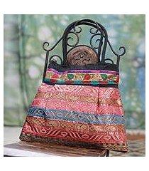 shoulder bag, 'gujarat dreams' (india)