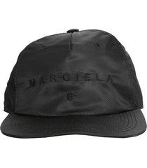 mm6 maison margiela baseball hat with logo