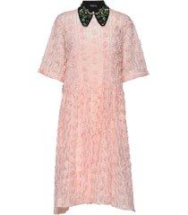 andrea by nbs jurk knielengte roze custommade