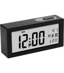1 unids grandes relojes despertadores digitales lcd-