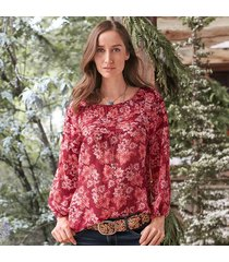 imperial gardens blouse