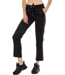 pantalón everlast planer negro - calce regular