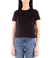 calvin klein j20j213595 t-shirt women black