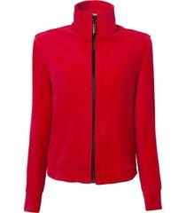 casaco le lis blanc plush ii vermelho feminino (paprica, gg)