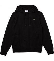lacoste trui men sh1527 hooded fleece