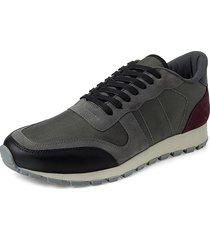 canvas blauman sneakers // grey  vino