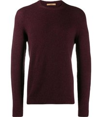 nuur fine knit sweatshirt - red