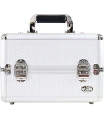 maleta profissional de maquiagem jacki design de alumínio +abs