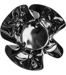 cachepot fiori inox revestido em prata riva