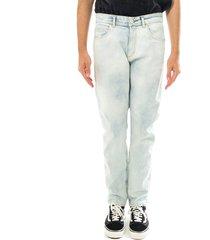 amish jeans uomo david comfort crinkie bleach denim p21amu000d3941765