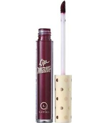 latika lip matte metálico vinho nº 41 - batom líquido 4ml