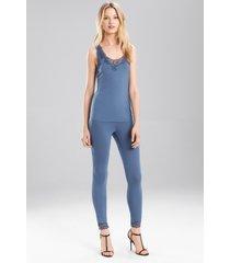 undercover tank pajamas, women's, blue, size l, josie natori