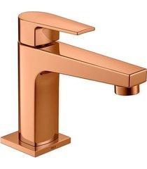 torneira para banheiro mesa level red gold bica baixa - 1197.gl26.rd - deca - deca