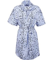 kenzo dress printed belted tunic