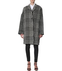 philosophy di lorenzo serafini check print coat