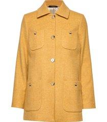 marea herringb coat wollen jack jack geel morris lady