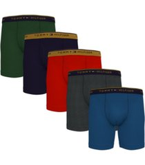 tommy hilfiger men's 5-pk. classic cotton boxer briefs