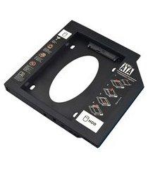adaptador hdd/ssd multilaser ga173 para notebook via baia de 12,7mm
