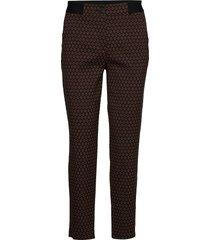 crop leisure trouser slimfit broek skinny broek bruin gerry weber