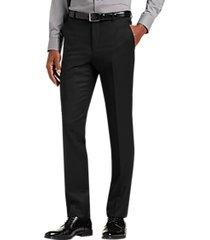joe joseph abboud black extreme slim fit suit separate pant