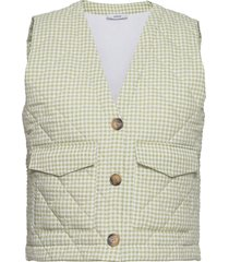 enbasil waistcoat 6824 vests padded vests grön envii