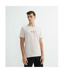 camiseta estampa hey | request | rosa | g