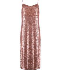 l'autre chose sequinned shift dress - pink