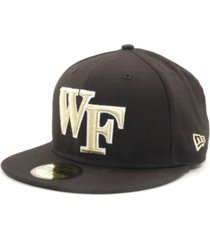 new era wake forest demon deacons 59fifty cap