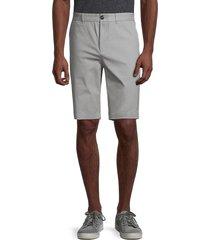 eleven paris men's stretch-cotton shorts - grey - size 36