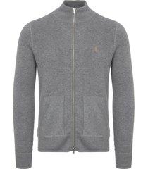 farah gravel fermoy knitted cardigan f4gf7088