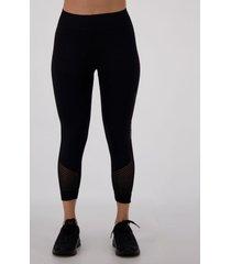 calça legging lupo arrastão feminina preta