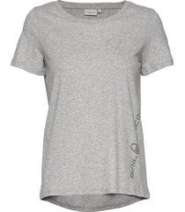 w gail tee#2 t-shirts & tops short-sleeved grå sail racing