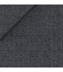 pantaloni da uomo su misura, tallia di delfino, traveller grigi 3-ply, quattro stagioni