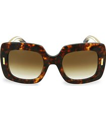 50mm oversized square sunglasses