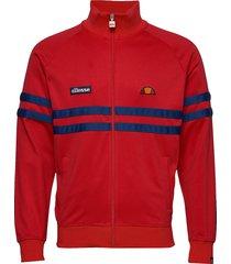 el rimini track top sweat-shirt tröja röd ellesse