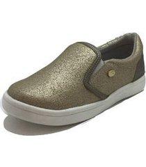 sneaker dorado coqueta 157111-s