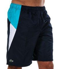 mens colourblock shorts