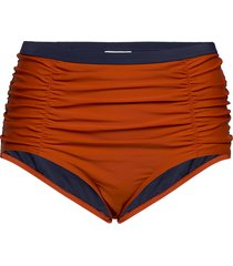jrfika highwaisted bikini bottom - k bikinitrosa röd junarose
