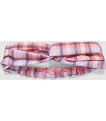lane bryant women's madras headband onesz pink madras