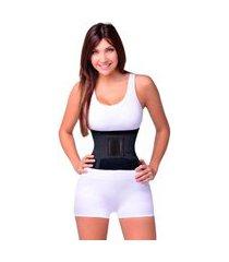 cinta abdominal emagrecedora modeladora unissex hot belt hb ks casual&sport